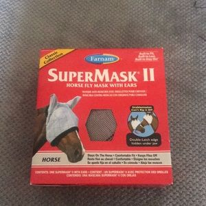 Farnam Other - Farnam SuperMask II Horse Fly Mask Classic w/ears